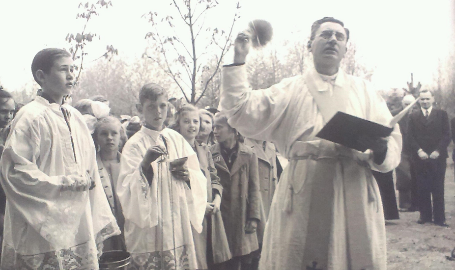 Inwijding Palmzondag 1950