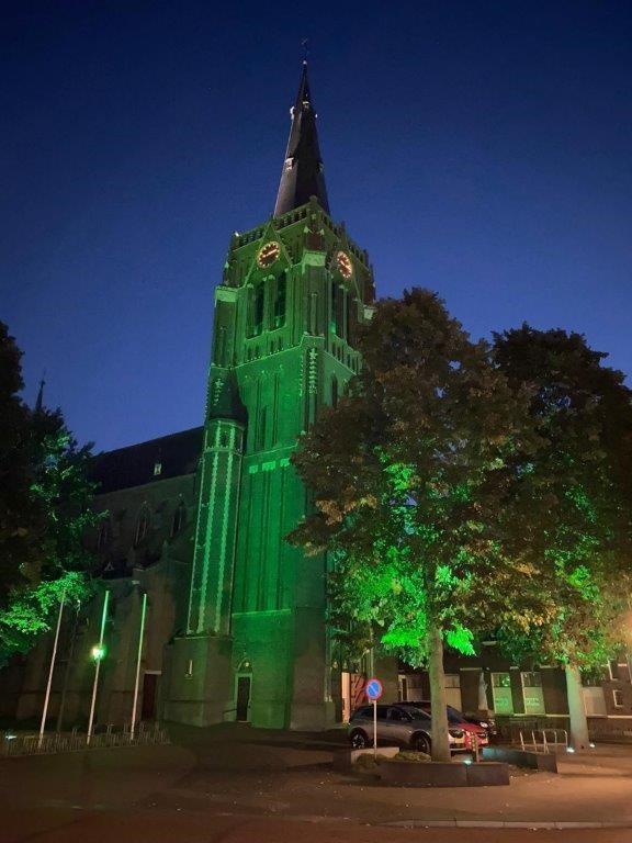 Groene kerk Odulphus