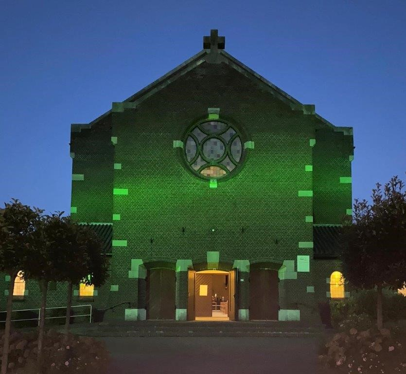 Groene kerk Antonius