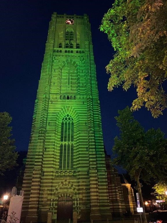 Groene kerk Petrus Basiliek