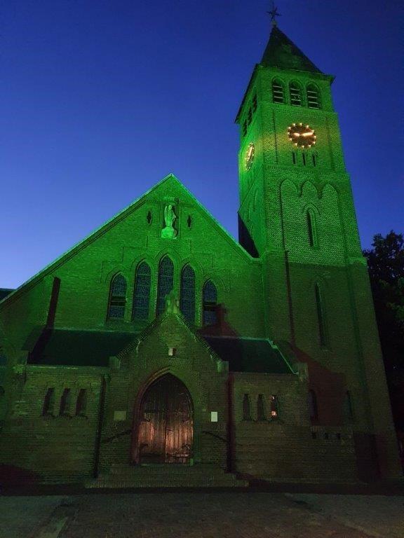 Groene kerk Willibrordeskerk