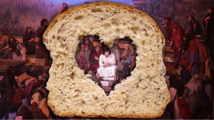 Ik ben het brood. Gevonden op: www.elisapaz.nl