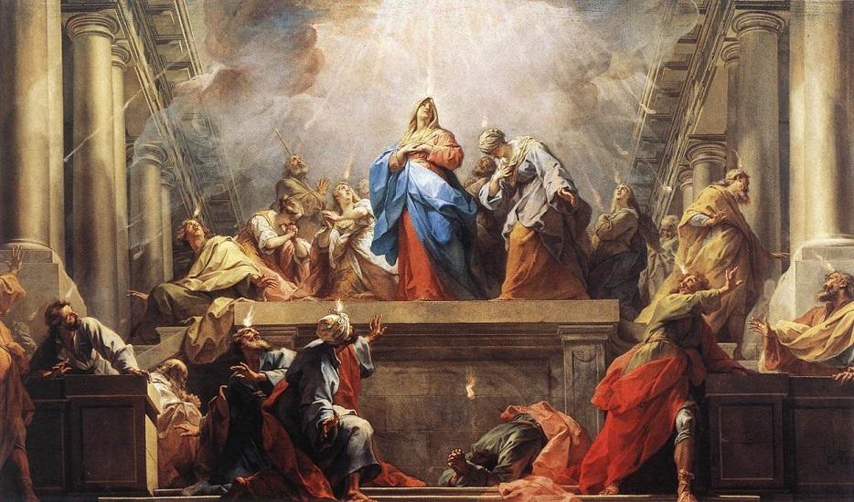 Johannes 15, 26-27
