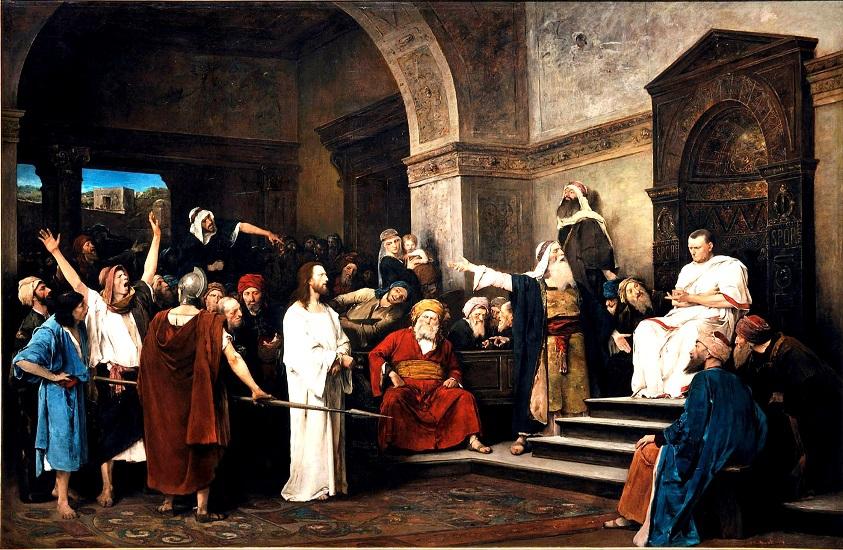 Johannes 18, 33b-37