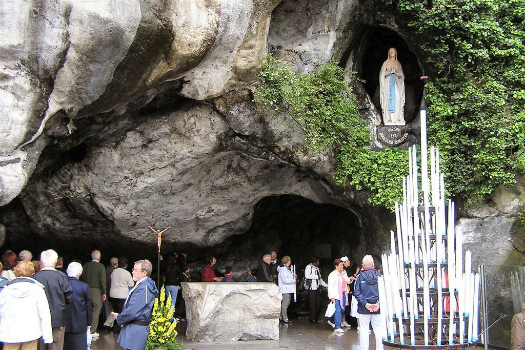 Lourdes grot