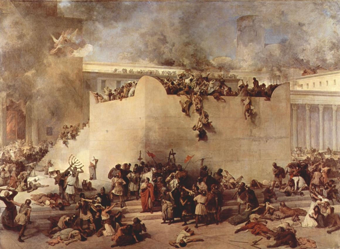 De verwoesting van de Tempel van Jeruzalem