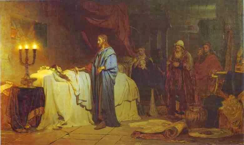Opwekking van de dochter van Jairus