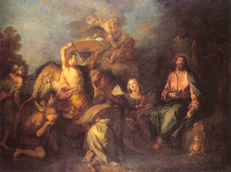 Mattheus 4, 1-11