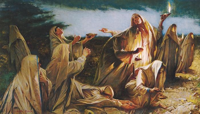Mattheus 25, 01-13