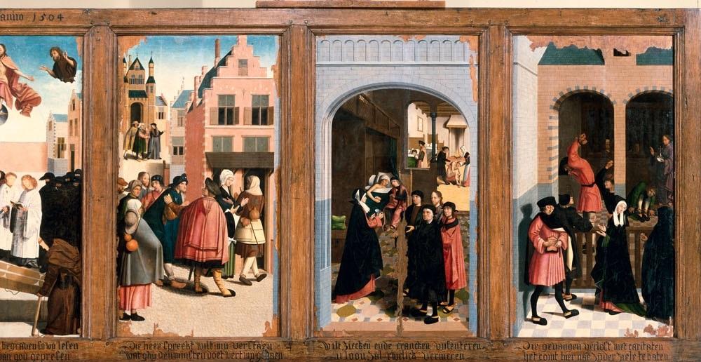 Mattheus 25, 31-46 A Rechts