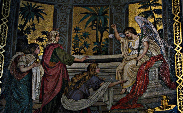 Mattheus 28, 1-10