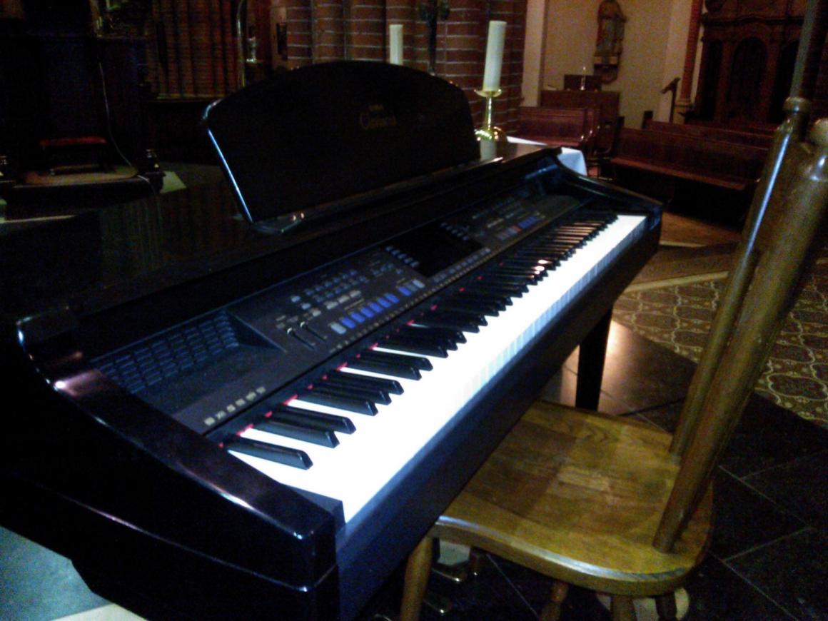 nieuwe piano